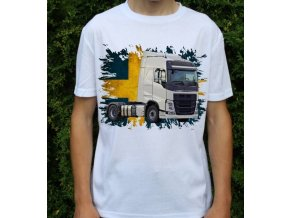 tričko, tahač, kamion, potisk, Volvo FH460