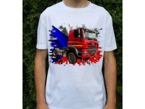 tričko, tahač, kamion, potisk, tatra phoenix
