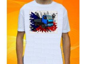 tričko, nákladní auto, potisk, liaz fz
