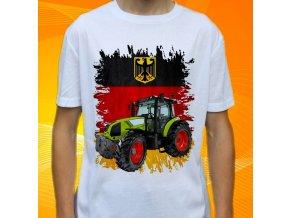 tričko, dětské, pánské, potisk. traktor, claas arion