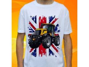 tričko, dětské, pánské, potisk. traktor, fastrac