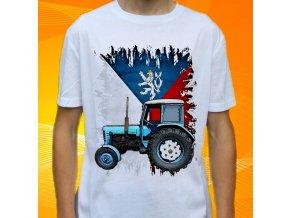 Dětské a pánské tričko s traktorem Zetor 30 Slovensko