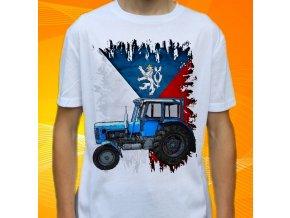 Dětské a pánské tričko s traktorem Zetor 4011 Slovensko