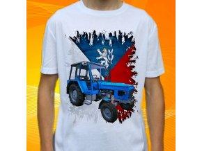Dětské a pánské tričko s traktorem Zetor 6911 Čechy