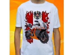 Dětské a pánské tričko s motorkou KTM 290 Duke