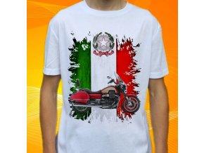Dětské a pánské tričko s motorkou Moto Guzzi California 1400 Touring