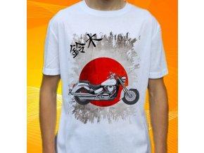 Dětské a pánské tričko s motorkou Suzuki Boulevard C50