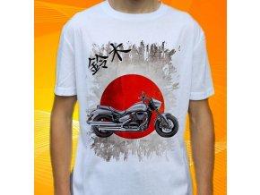 Dětské a pánské tričko s motorkou Suzuki Boulevard M50