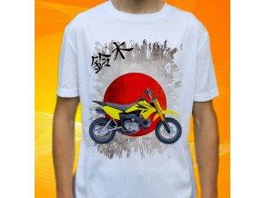 Dětské a pánské tričko s motorkou Suzuki DRZ70