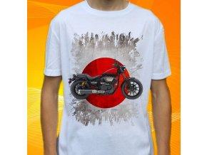Dětské a pánské tričko s motorkou Yamaha Bolt R-spec