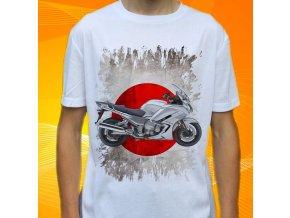 Dětské a pánské tričko s motorkou Yamaha FJR1300ESABS