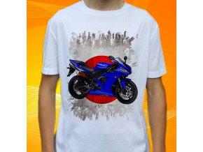 Dětské a pánské tričko s motorkou Yamaha čtyřkolka