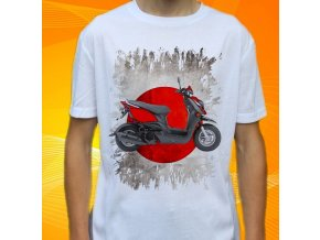 Dětské a pánské tričko s motorkou Yamaha Zuma X