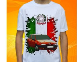 Dětské a pánské tričko s autem Alfa Romeo 145