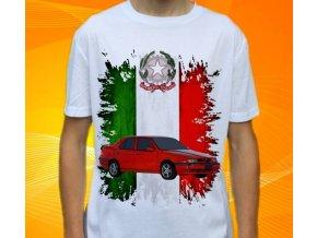 Dětské a pánské tričko s autem Alfa Romeo 155