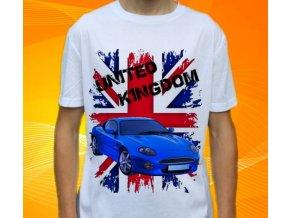Dětské a pánské tričko s autem Aston Martin DB7 GT