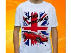 Dětské a pánské tričko s autem Aston Martin DBS