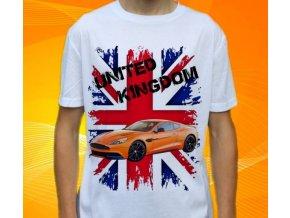 Dětské a pánské tričko s autem Aston Martin DB9