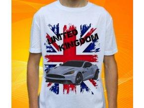 Dětské a pánské tričko s autem Aston Martin Vanquish