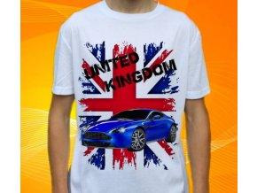 Dětské a pánské tričko s autem Aston Martin Vantage