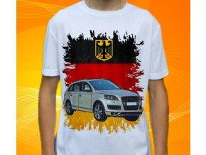 Dětské a pánské tričko s autem Audi Q7 2011