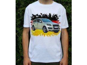 Dětské a pánské tričko s autem Audi Q7