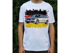 Dětské a pánské tričko s autem Audi A3