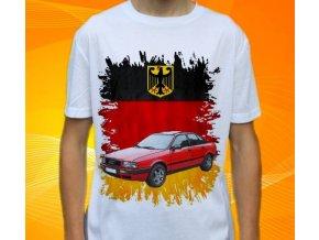 Dětské a pánské tričko s autem Audi 80