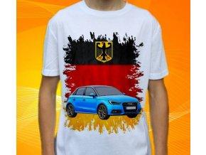 Dětské a pánské tričko s autem Audi A1