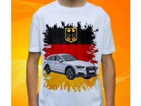 Dětské a pánské tričko s autem Audi A4 Allroad Quattro