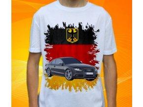 Dětské a pánské tričko s autem Audi A5