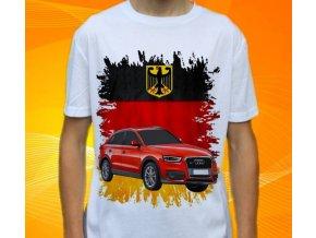 Dětské a pánské tričko s autem Audi Q3