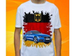 Dětské a pánské tričko s autem Audi S7