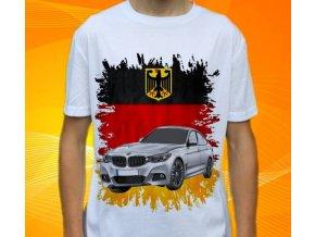Dětské a pánské tričko s autem BMW 3 GT