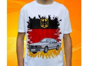 Dětské a pánské tričko s autem BMW E24