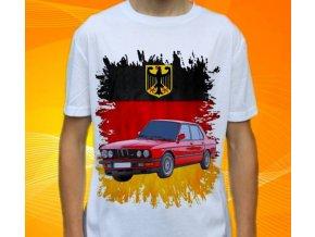 Dětské a pánské tričko s autem BMW E28