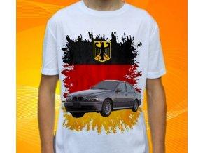 Dětské a pánské tričko s autem BMW E39