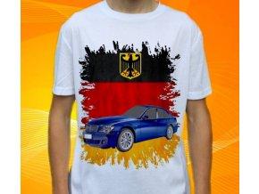 Dětské a pánské tričko s autem BMW E65