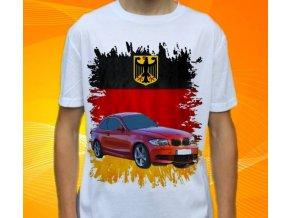 Dětské a pánské tričko s autem BMW E82