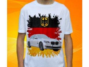Dětské a pánské tričko s autem BMW F01