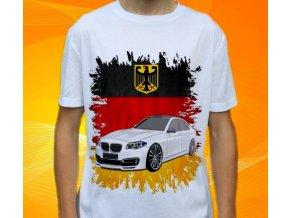 Dětské a pánské tričko s autem BMW F10