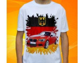 Dětské a pánské tričko s autem BMW F20
