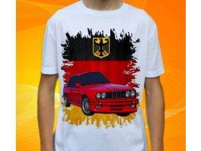 Dětské a pánské tričko s autem BMW M3 E30
