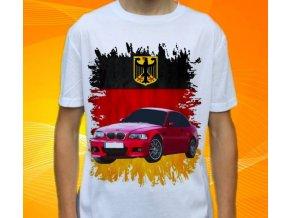 Dětské a pánské tričko s autem BMW M3 E46