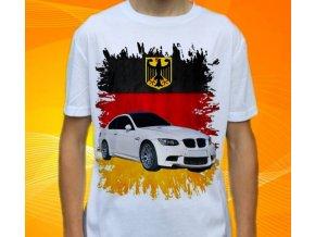Dětské a pánské tričko s autem BMW M3 E92
