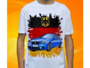 Dětské a pánské tričko s autem BMW M5