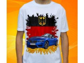 Dětské a pánské tričko s autem BMW Z4