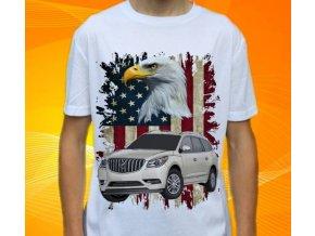 Dětské a pánské tričko s autem Buick Enclave