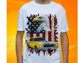 Dětské a pánské tričko s autem Buick GSX