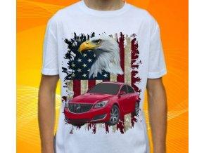 Dětské a pánské tričko s autem Buick Regal